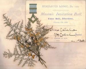 Athelstan Masonic Ball - 17 February 1890