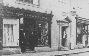 Masonic Rooms at The Co-op, Long Street, Atherstone 1907
